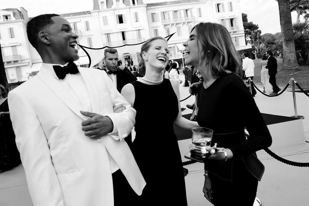 Jessica Chastain & Will Smith