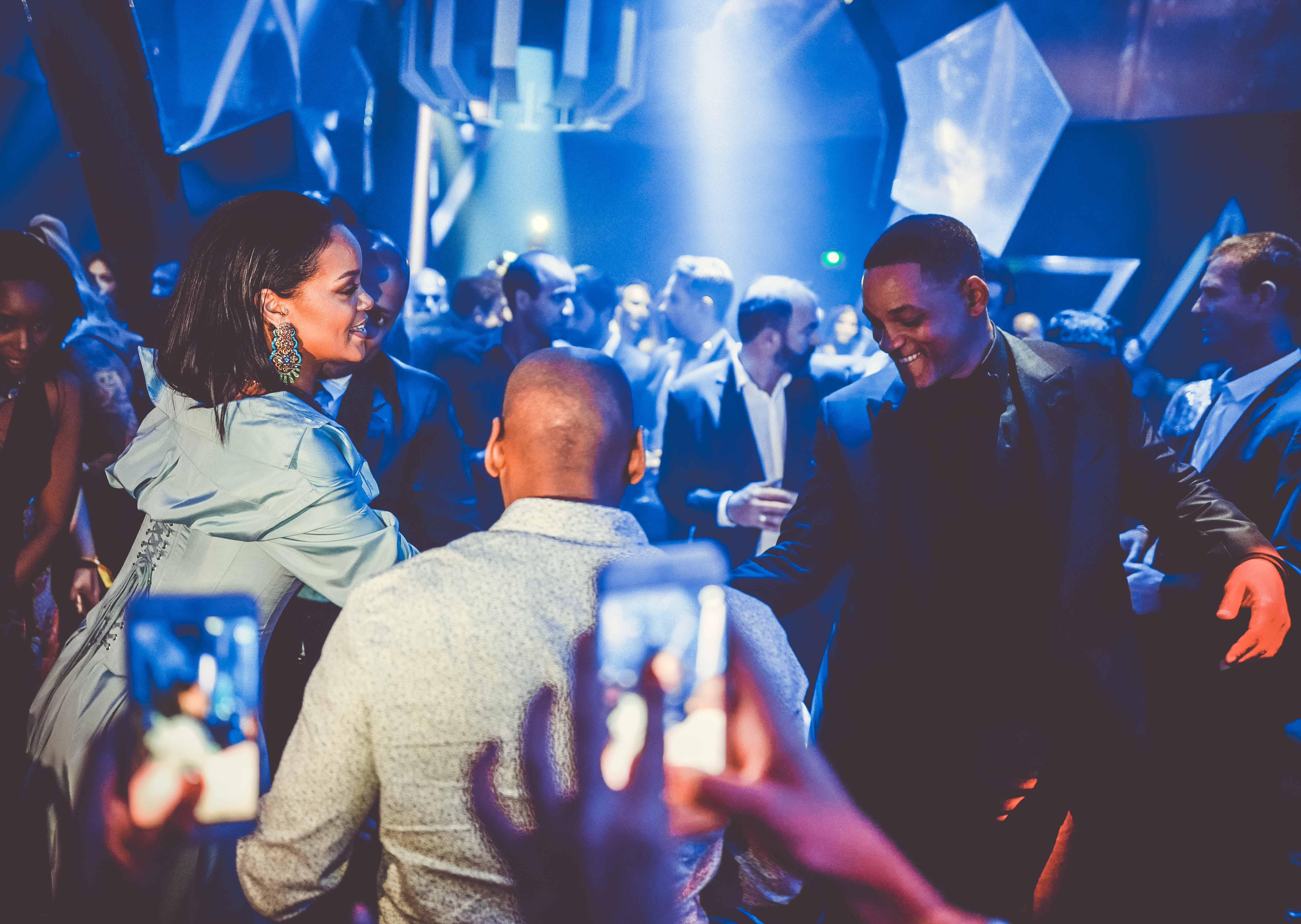 Rihanna et Will Smith