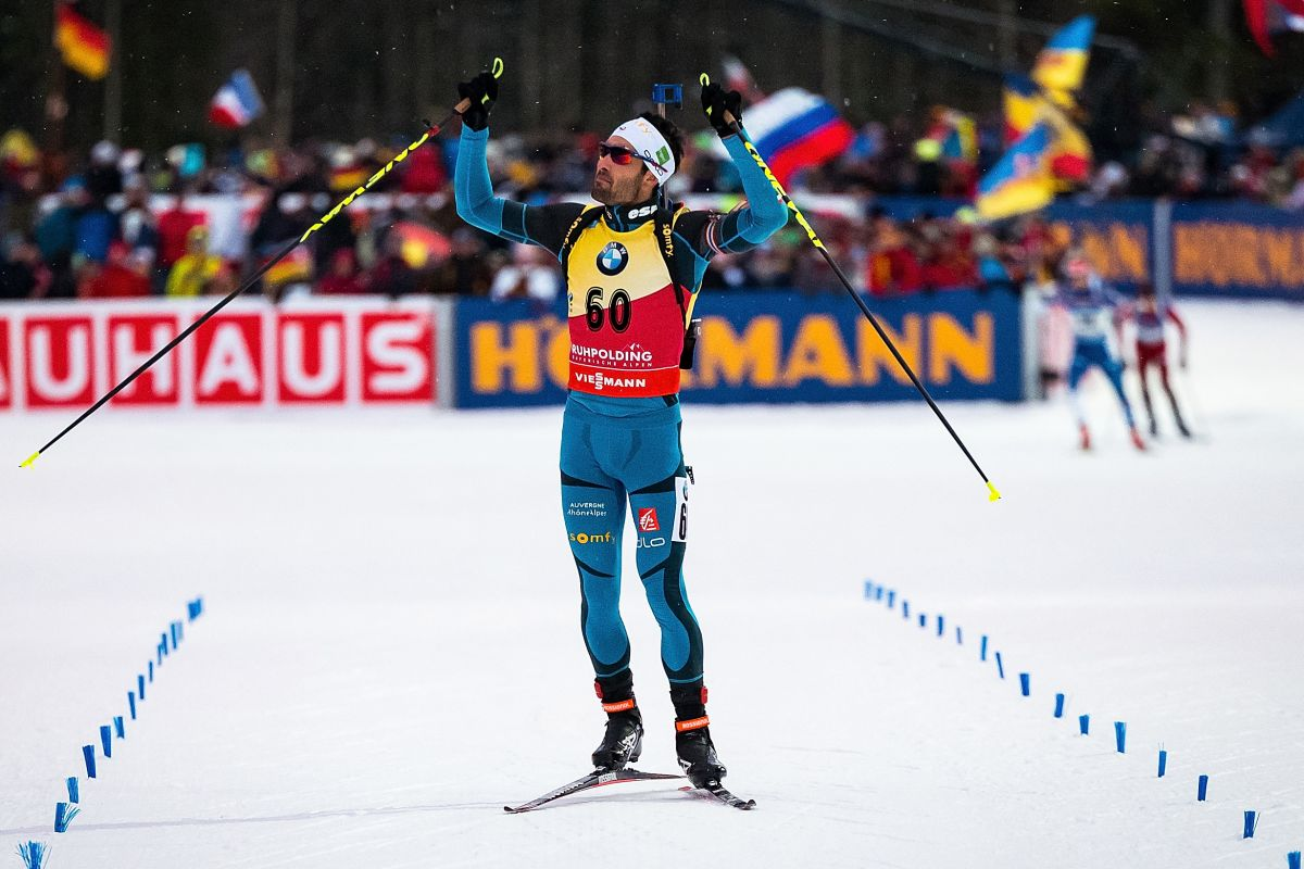 champion biathlon 2018 martin fourcade