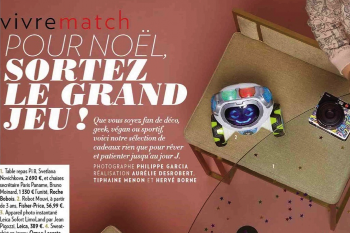 Leica dans le magazine Paris Match