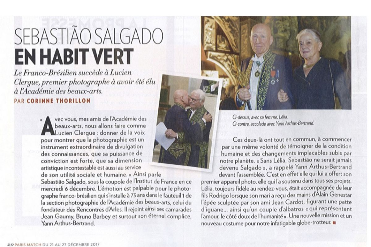 paris match sebastio salgado