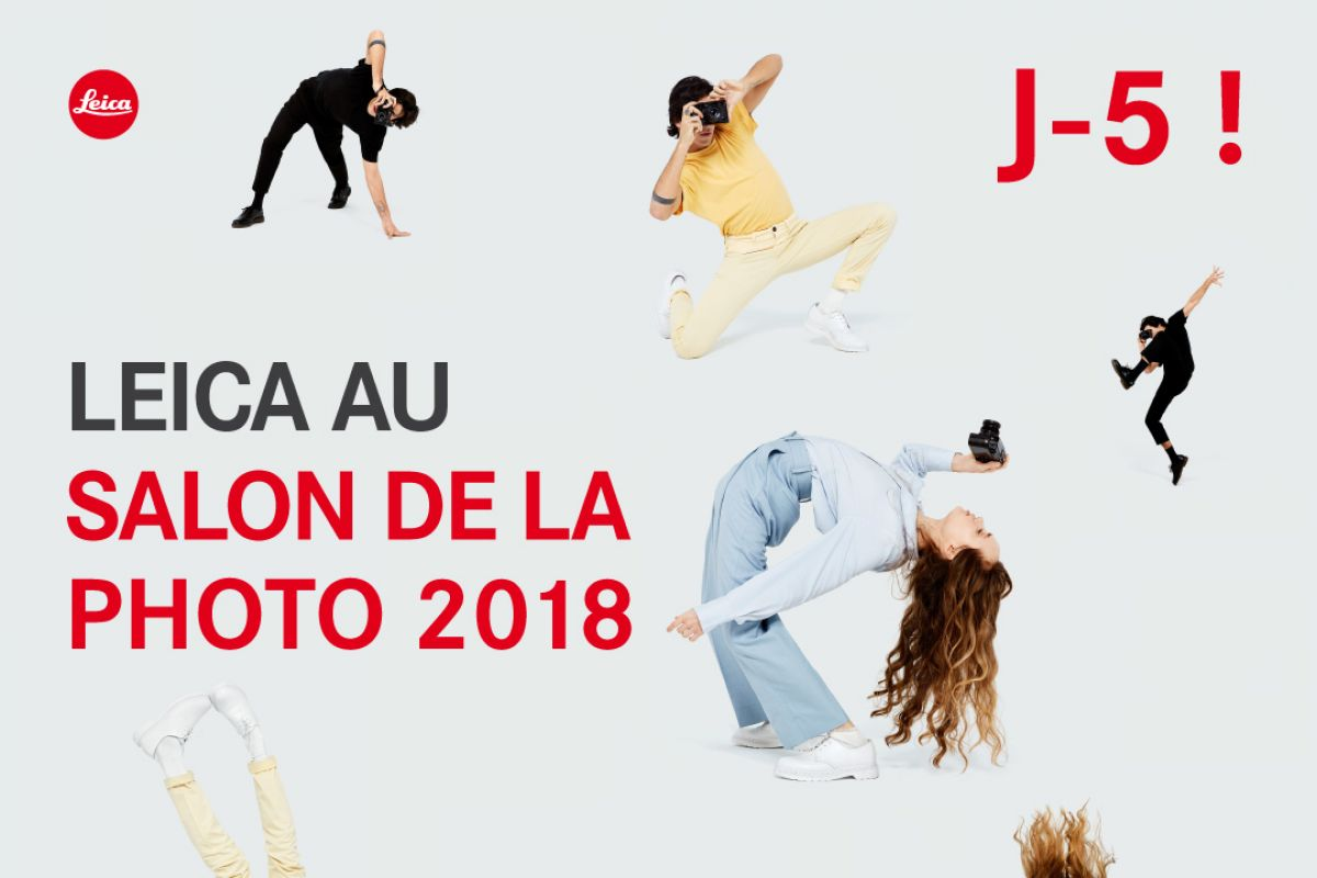 leica au salon de la photo 2018